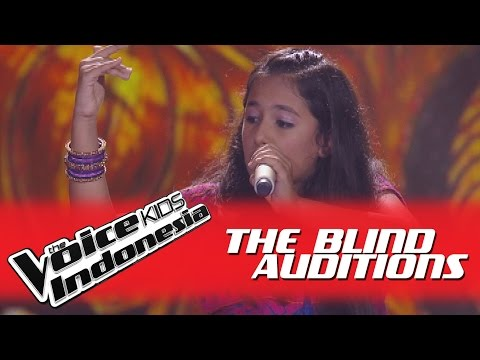 "Nitya ""Bole Chudiyan"" I The Blind Auditions I The Voice Kids Indonesia GlobalTV 2016"