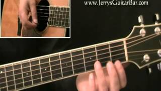 How To Play The Temptations My Girl Guitar Lesson