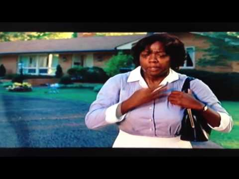 The Help Movie/Film Last/End Scene Aibleen Gets Fired