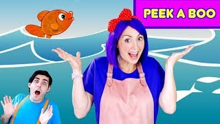 Peek A Boo - Hide And Seek Under The Sea With Bella And Beans