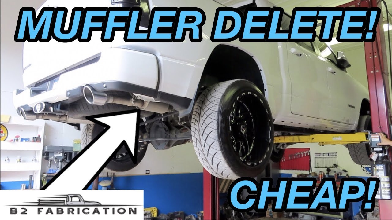 2019 Ram 1500 5.7L Muffler Delete By Solo Performance