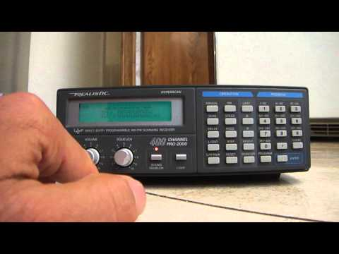Realistic 400 channel scanning receiver