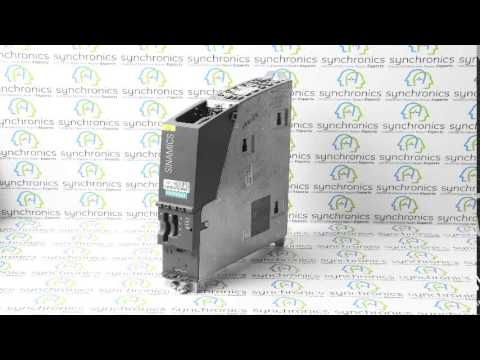 Siemens - Sinamics Control Unit CU320 6Sl3040-0MA00-0AA1 Repaired at Synchronics
