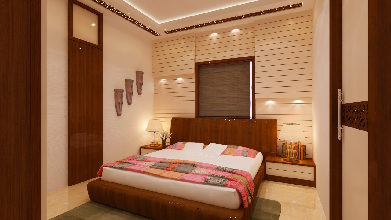 How to decorate a small bedroom interior design for Designs of the interior