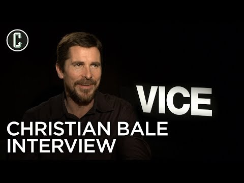 Christian Bale Interview: Vice