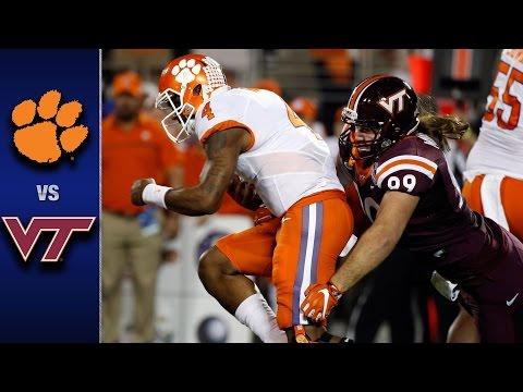 Clemson vs. Virginia Tech ACC Football Championship Game Highlights (2016)
