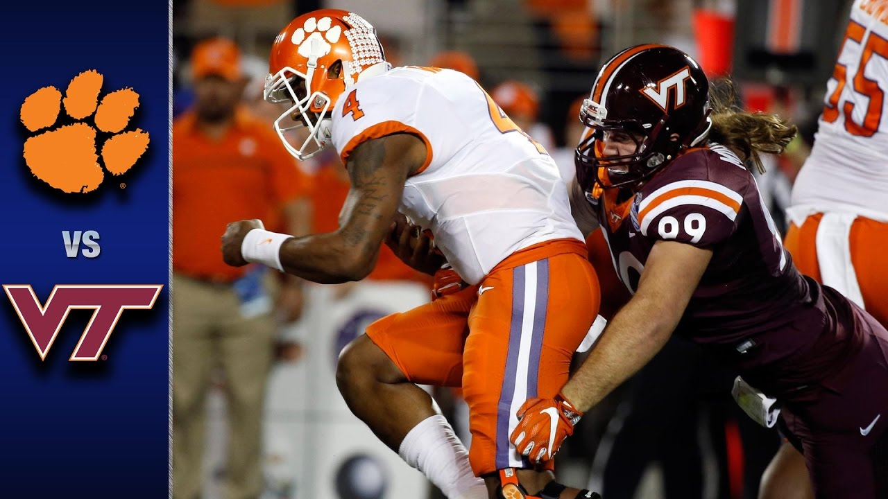 Clemson Vs Virginia Tech Acc Football Championship Game Highlights 2016