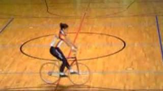 Girl Bike tricks