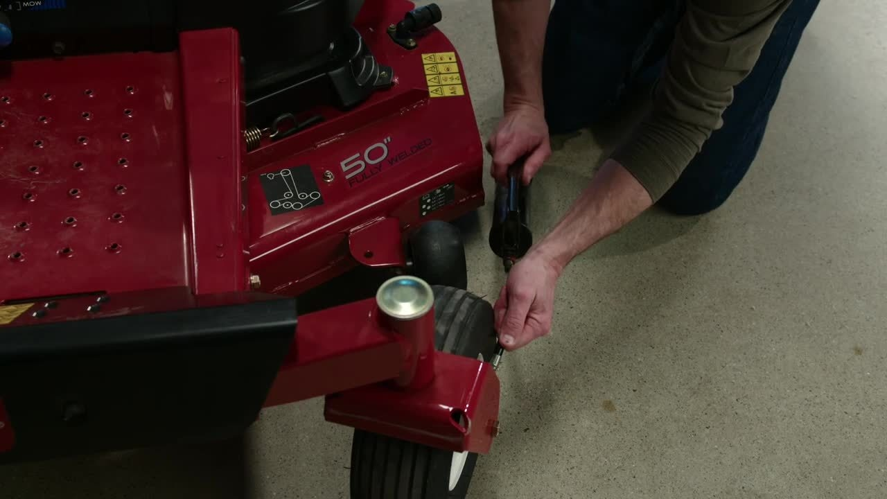 How to Grease the Wheel Bearings on Your Zero Turn Mower - Toro