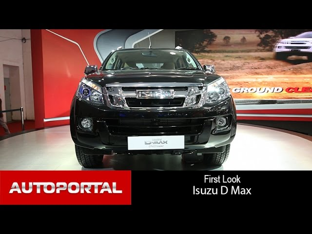 Isuzu DMax V-Cross First Look - Autoportal