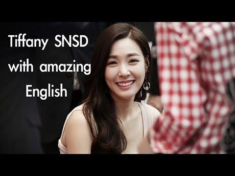 Tiffany [SNSD] with amazing English ability