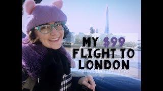 My $99 Flight to London