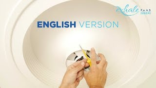 Assembly and Set Up of Exhale Fan in English