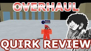 Boku No Roblox: Remastered | OVERHAUL Quirk Review [CODES]