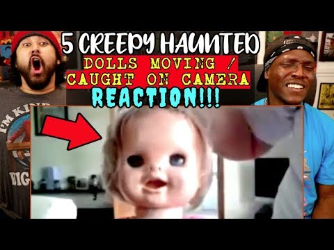 Download 5 Creepy Dolls MOVING : Top 5 HAUNTED Dolls Caught On Tape!   REACTION!!!