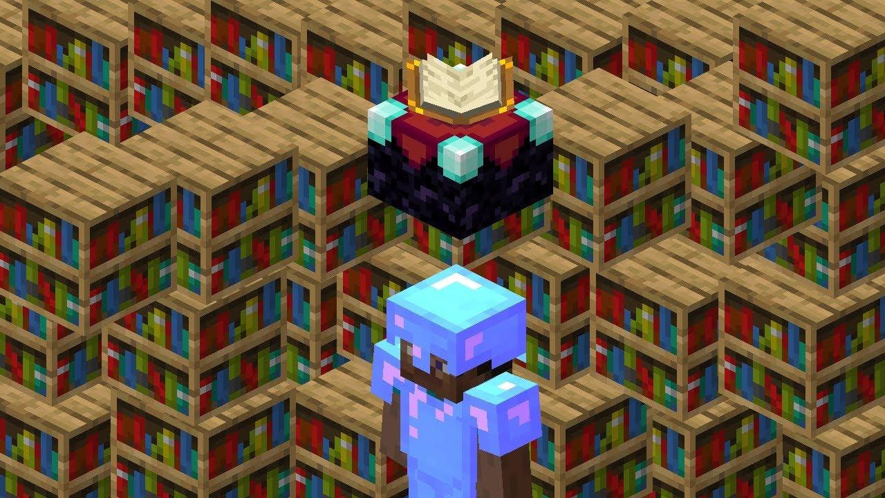 I finally have a full enchanted diamond armor Minecraft