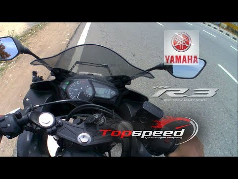 Yamaha R3 TOP SPEED 2017