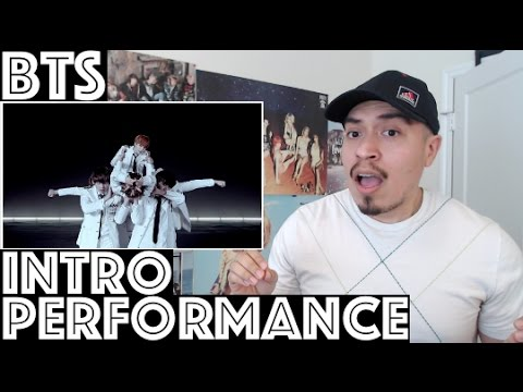BTS Intro Performance Trailer Reaction