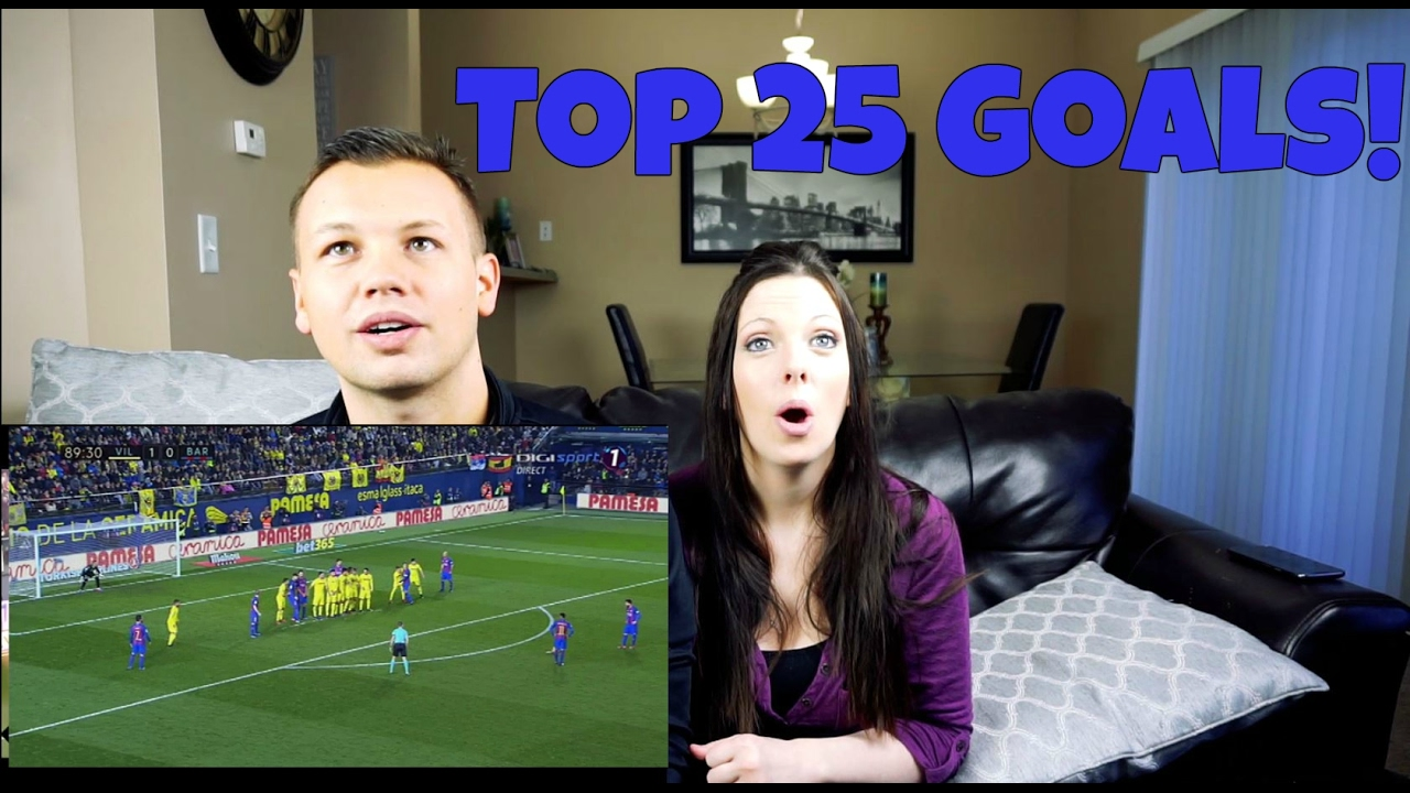 Download REACTION  Top 25 Goals Of January 2017!!