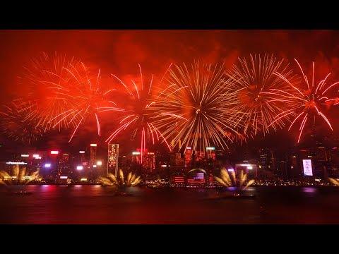 InterContinental Hong Kong, Hong Kong SAR 20th Anniversaries Fireworks Show on Victoria Harbour
