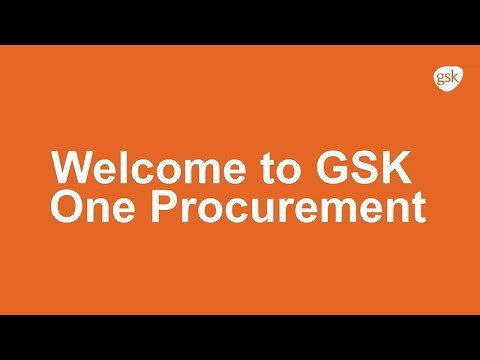 GSK One Procurement – Come and Join Us