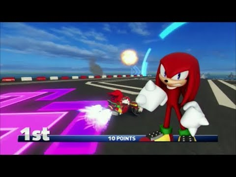 Sonic & All-Stars Racing Transformed (PS3) Knuckles In Dragon Cup (Expert)