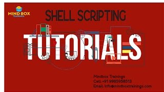 Shell Scripting Tutorial Advanced Online Session 1 | MindBox Training Online