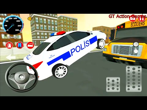 Real Police Car Driving Simulator 3D - Police Car Games - Android Gameplay