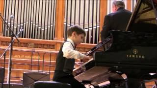 Й. Гайдн - Концерт для фортепиано с оркестром (I ч.)