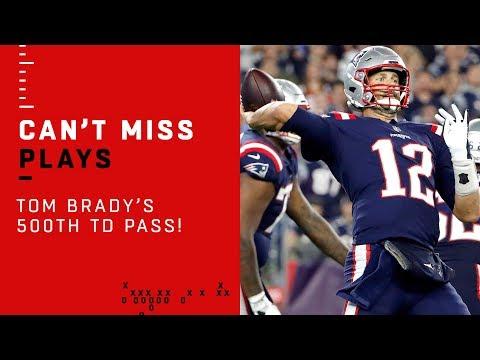 Dan Rivers - Josh Gordon Catches Tom Brady's 500th Touchdown Pass