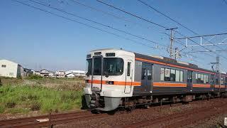 JR東海313系 海カキY105編成 普通掛川行き 西小坂井駅発車