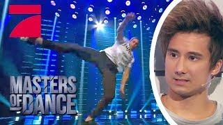 Patrick aka Patrox rasiert! Was ein Auftritt! | Masters of Dance | ProSieben