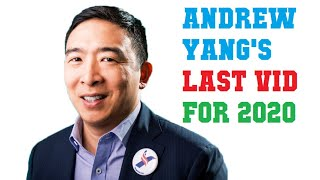 Andrew Yang Campaign's LAST VIDEO - Reflections on Universal Basic Income