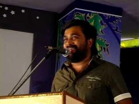 Yuvaparva'10 ~ SasiKumar addressing the gathering