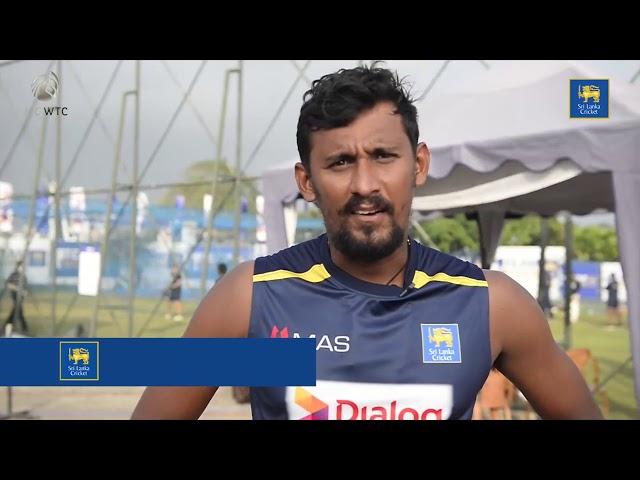 Sri Lanka Team Trains ahead of the 02nd Test