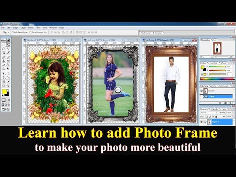 Add Photo Frame To Your Image 🔥🔥🔥