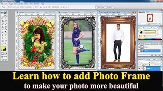 Add Photo Frame to Your Image in Adobe Photoshop 7.0 🔥🔥🔥 screenshot 3