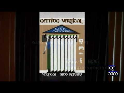 How To Install Vertical Blind Valances Getting Vertical