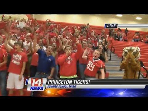 Sunrise School Spirit: Princeton Community High School Part 1