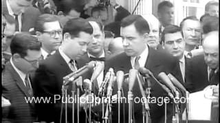 Video Laos Crisis - Kennedy and Gromyko voice peace hopes 1961 newsreel archival stock footage download MP3, 3GP, MP4, WEBM, AVI, FLV Juli 2018
