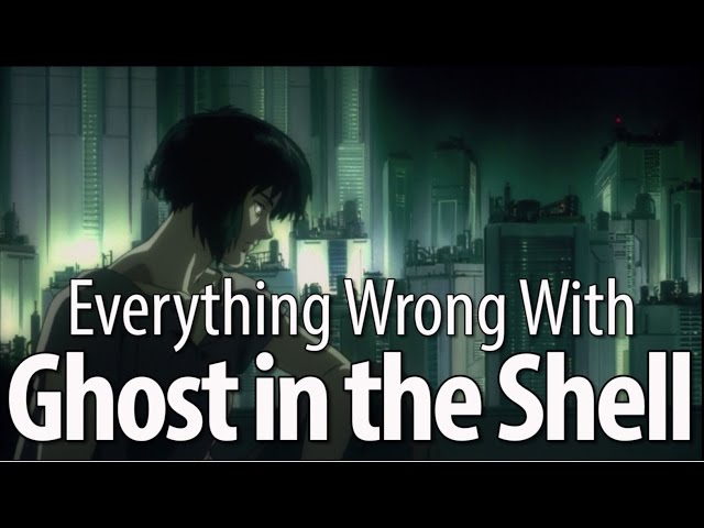 Everything Wrong With Ghost In The Shell (1995)