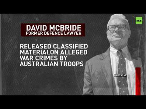 Whistleblower faces trial over leak on Australian army 'war crimes' in Afghanistan