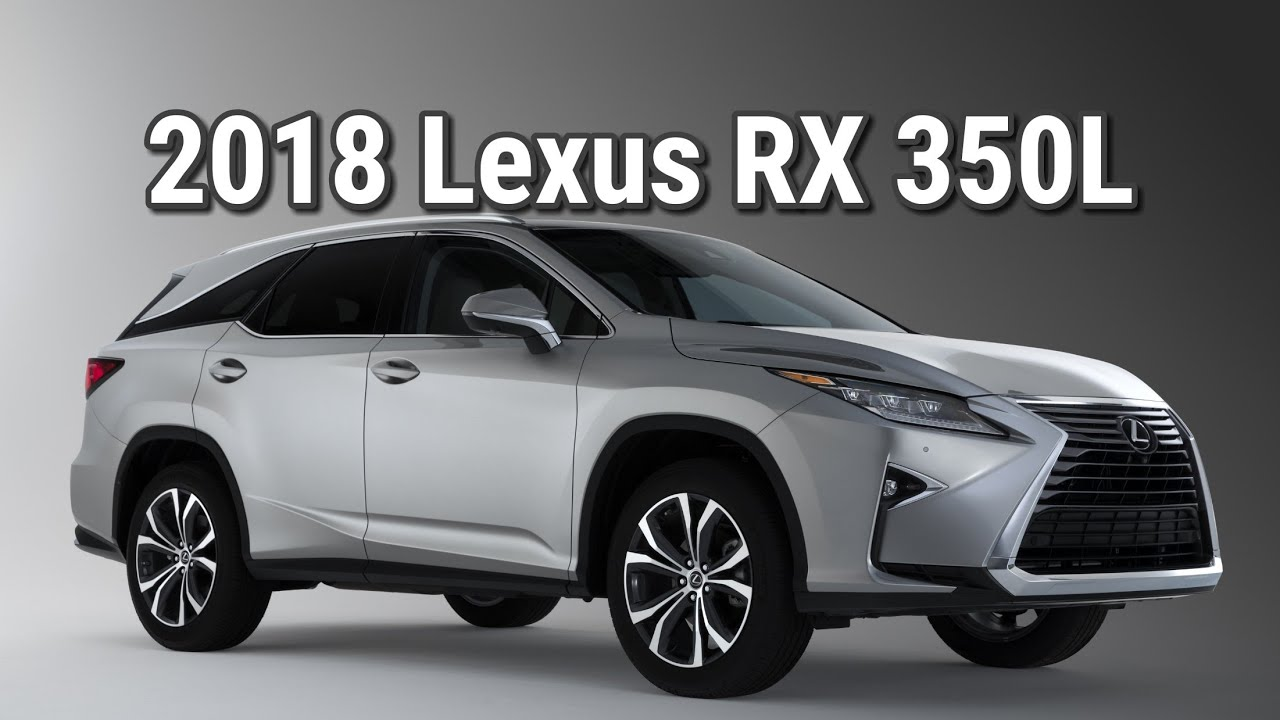 2018 lexus rx 350 l third row interior review flow lexus of greensboro youtube. Black Bedroom Furniture Sets. Home Design Ideas