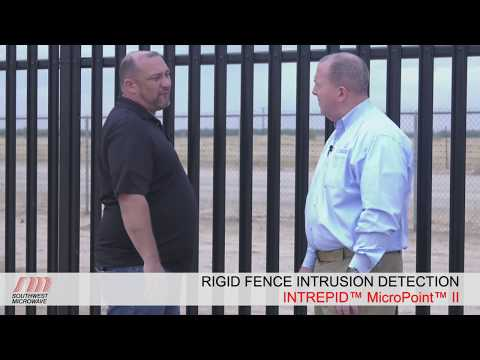 INTREPID™ MicroPoint™ II Fence Detection System - Rigid Fence - Perimeter Security