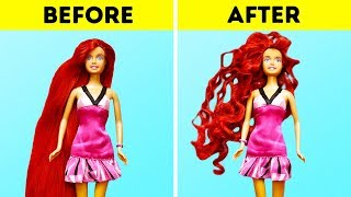 20 BARBIE DOLL CRAFTING HACKS