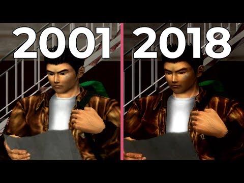 Shenmue II – Dreamcast (2001) vs. PS4 (2018) HD-Port Graphics Comparison