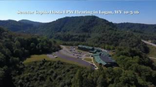 senator capito hosts epw hearing in logan wv