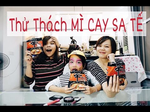 Song Thư Vlog: Thử Thách MÌ CAY SA TẾ - SONG THƯ CHANNEL