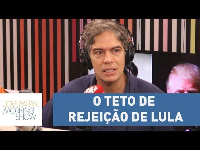"""Ricardo Amorim: """"O teto de rejeição de Lula veio mais para baixo"""" após delação de Palocci"""