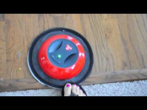o-duster robotic floor cleaner - youtube